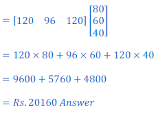 class 12 math Solution of NCERT exercise 3.2 Matrices101