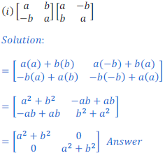 class 12 math Solution of NCERT exercise 3.2 Matrices11