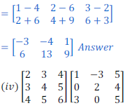 class 12 math Solution of NCERT exercise 3.2 Matrices15
