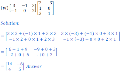 class 12 math Solution of NCERT exercise 3.2 Matrices19