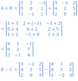class 12 math Solution of NCERT exercise 3.2 Matrices23