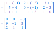 class 12 math Solution of NCERT exercise 3.2 Matrices26_A