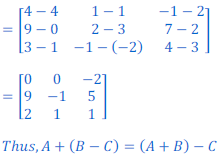 class 12 math Solution of NCERT exercise 3.2 Matrices29