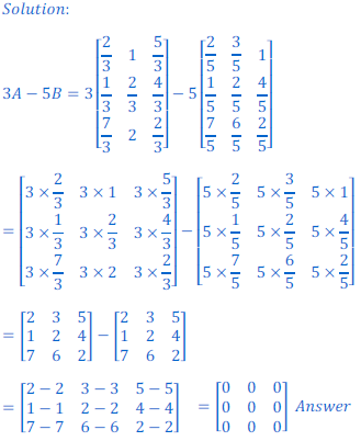 class 12 math Solution of NCERT exercise 3.2 Matrices32