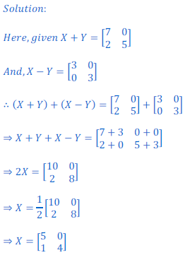 class 12 math Solution of NCERT exercise 3.2 Matrices36