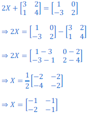 class 12 math Solution of NCERT exercise 3.2 Matrices46