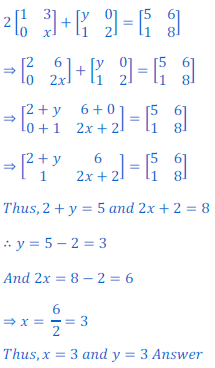 class 12 math Solution of NCERT exercise 3.2 Matrices48