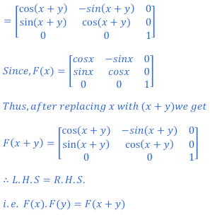 class 12 math Solution of NCERT exercise 3.2 Matrices65