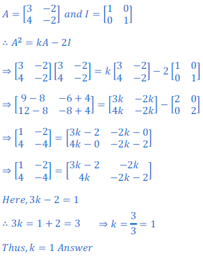 class 12 math Solution of NCERT exercise 3.2 Matrices87